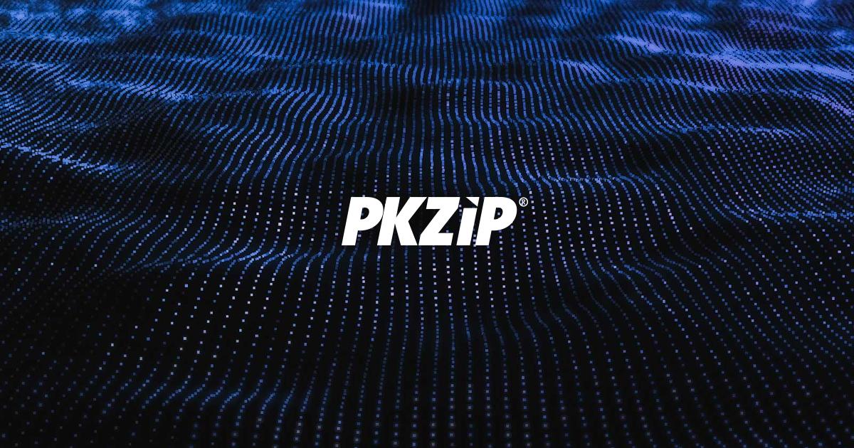 PKWARE 社が提供する無償の ZIP 復号・解凍ツール ZIP Reader