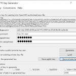 Windows の SSH クライアント(PuTTY, RLogin など)で作成した公開鍵で Linux にアクセスするには
