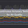 正確なエアクオリティ データのための継続的な精度テスト