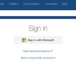 NuGet へのログインに Microsoft アカウントが必要になりました
