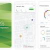 小型ポータブル PM2.5 モニター用の大気汚染コンパニオンアプリ