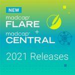 新バージョン MadCap Central April 2021 と MadCap Flare 2021 の新機能