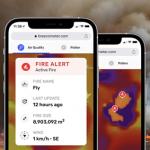 新しい BreezoMeter のリアルタイム山火事トラッキング技術
