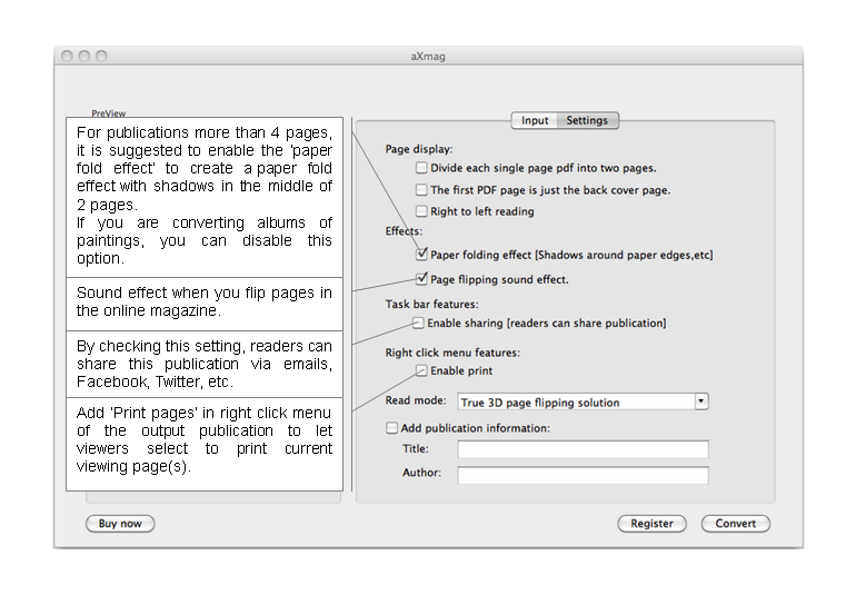 flash magazine to pdf converter